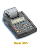 nurit 2085 credit card machine
