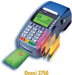 omni 3750 credit card machine