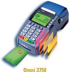 omni 3750 credit card machine
